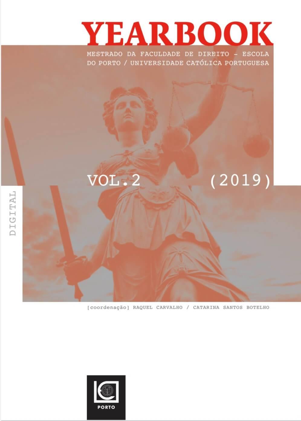 Yearbook – Mestrado Faculdade de Direito 2019 (vol. 2) (2020)